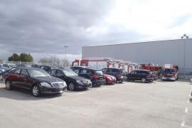 Nueve camiones a estrenar de Bombers de Mallorca están en el concesionario por falta de pago