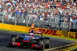 Button primer líder del Mundial al ganar en Australia, Alonso fue quinto