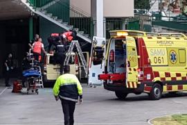 Fallece un hombre tras caer desde una quinta planta del colegio Luis Vives