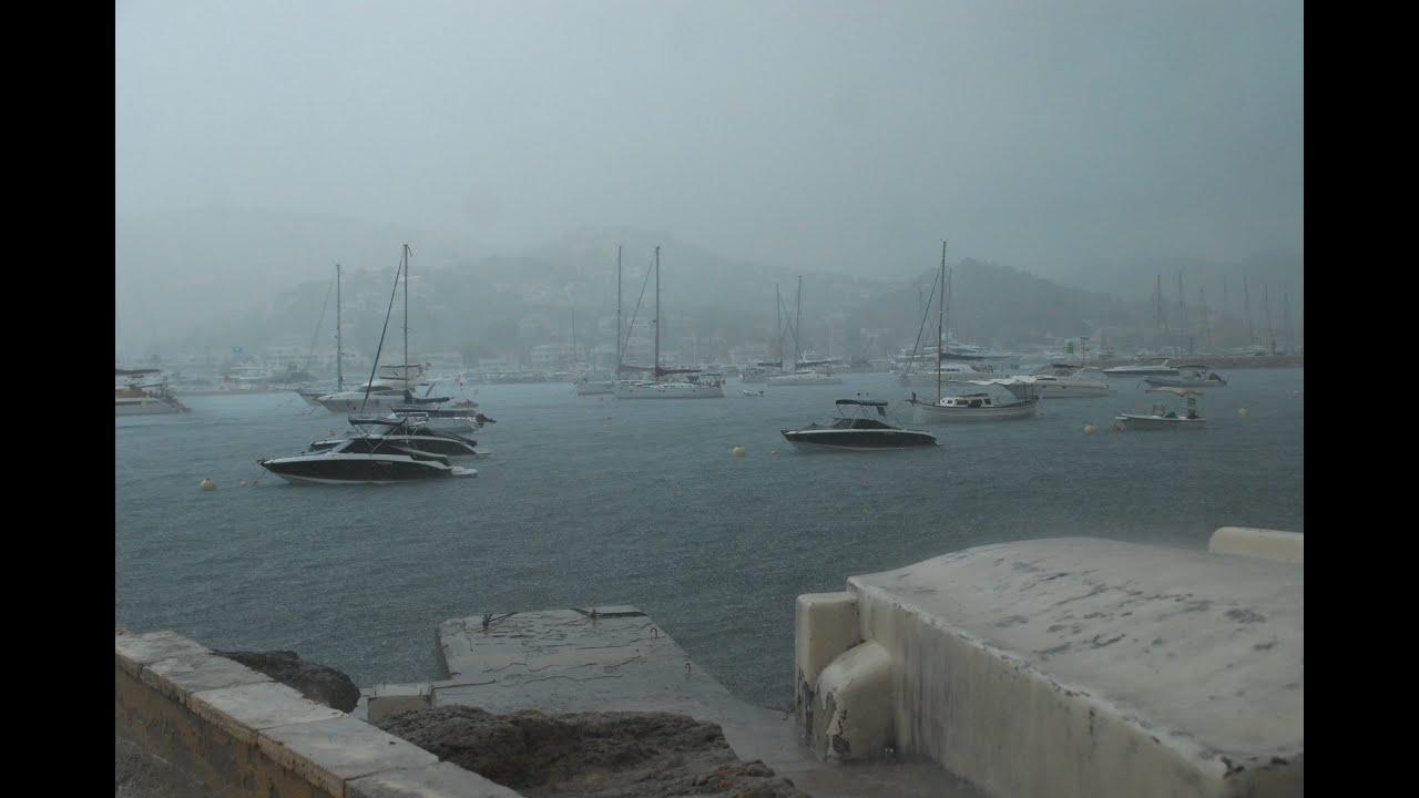 La gota fría llega a Mallorca: Inundaciones, caos circulatorio y desprendimientos por toda la Isla