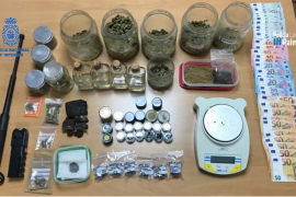 Dos puntos de venta de droga de Calvià simulaban ser asociaciones de consumidores de cannabis