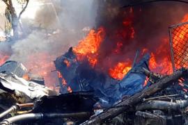Dos de las víctimas del accidente aéreo de Inca sobrevivieron a la caída