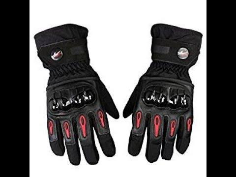 ¿Le parece correcta la iniciativa de la DGT de obligar a todos los motoristas a llevar guantes?