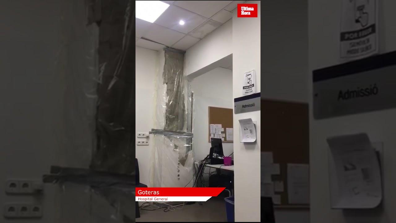 La Unidad Básica de Salud Centro, con goteras y cortes de luz por la reforma en el General