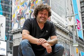 Domingo Zapata desvela el mural más grande de la historia de Nueva York
