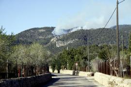 Versiones contradictorias sobre el origen del incendio de Bunyola