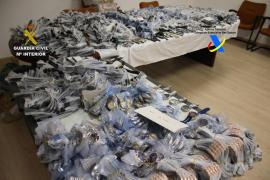 Confiscados en Mallorca 1.800 relojes procedentes de la piratería industrial