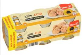 Alerta sanitaria por toxina botulínica en el atún en aceite de la marca DIA