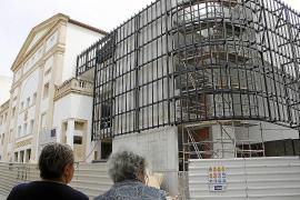 La constructora alerta de graves retrasos y de sobrecostes en las obras del Teatre Principal de Inca