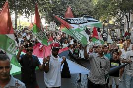 Protesta en Palma para recordar la situación del Sáhara