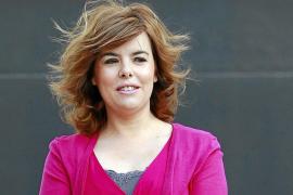 Sáenz de Santamaría anuncia una ley de transparencia y buen gobierno