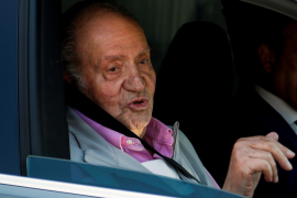 El rey Juan Carlos: «Me encuentro fenomenal con tuberías y cañerías nuevas»