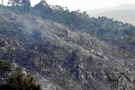 El GOB denuncia que el incendio en sa Comuna de Bunyola fue intencionado