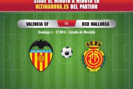 Así se ha vivido el Valencia-Real Mallorca