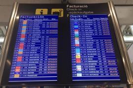 Problemas técnicos en el control aéreo francés provocan retrasos generalizados en Palma