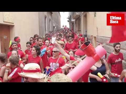 Canamunt y Canavall: La multitudinaria batalla de agua que inunda Palma