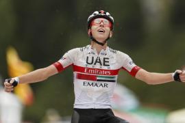 Pogacar gana en Andorra y Nairo Quintana se viste de rojo