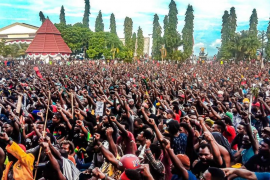 Indonesia prohíbe las manifestaciones en Papúa tras las protestas independentistas