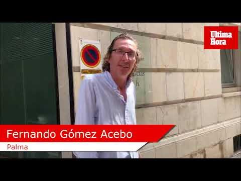 Fernando Gómez, sobre el estado de doña Pilar: «Mi madre está mejor»