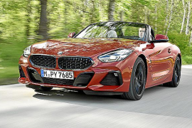 El BMW Z4, ahora también con caja de cambios manual