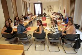 Imagen de archivo de una reunión de la ejecutiva del PSIB