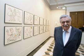 Una exposición muestra en Zaragoza al Miró más comprometido