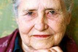 Doris Lessing, escritora del mes de septiembre en Can Ventosa en el centenario de su nacimiento
