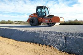 El Consell asegura que las escorias de la carretera Llucmajor-Campos «no son nocivas»
