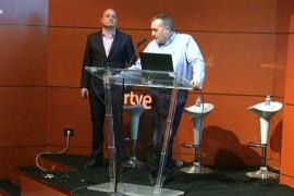 David Valcarce, nuevo director de TVE, y Enric Hernández, de información y Actualidad de RTVE