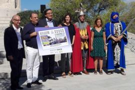 La ONCE celebra con un cupón las Fiestas del Rei en Jaume de Calvià