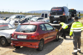 Empieza la retirada de vehículos del depósito de Son Toells