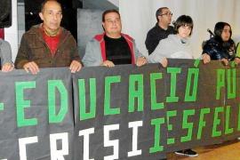 MANIFESTACIÓ IES FELANITX A FAVOR DE L'ESCOLA PÚBLICA