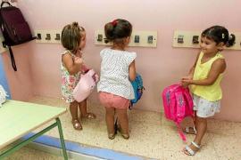 Las Pitiusas cuentan con 53 alumnos más de Infantil y Primaria que el curso pasado