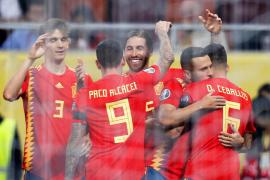 Pleno de victorias de España en su camino hacia la Eurocopa 2020
