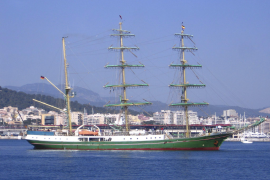 El buque escuela alemán 'Alexander Von Humboldt', una academia flotante