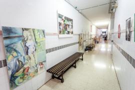 El estado en el que se encuentra la Escola d'Arts, en imágenes (Fotos: Daniel Espinosa).