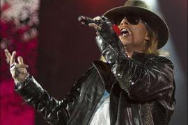Guns 'N' Roses: Todo a punto para su concierto