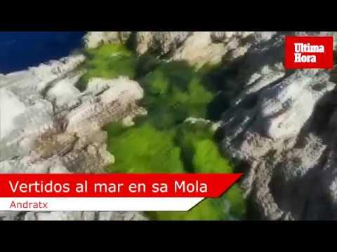 El Ajuntament d'Andratx abre una investigación sobre los vertidos al mar en sa Mola