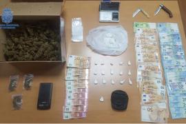Detenidos dos hombres de 59 y 71 años por traficar con cocaína en Can Pastilla