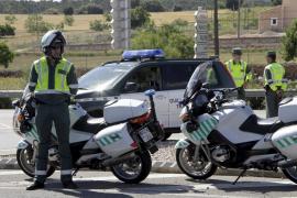 La Guardia Civil intensificará este fin de semana la vigilancia de las motocicletas en Baleares