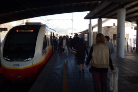 Unidas Podemos pide en el Congreso 480 millones de euros para el convenio ferroviario de Baleares hasta 2023