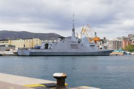 La fragata 'Languedoc', de la armada francesa, recala en Palma