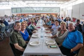 El homenaje a más de 300 parejas con medio siglo de matrimonio en Ibiza, en imágenes (Fotos: T. Planells).
