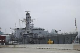 Una fragata de la Royal Navy hace escala en Palma