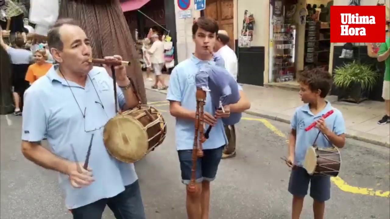 La XXIII Trobada de Gegants anima las calles de Palma
