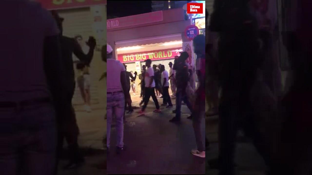 Máxima tensión y nuevos incidentes en Punta Ballena entre senegaleses