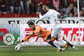 El Mallorca se lleva los tres puntos y deja tocado al Sporting  (2-3)