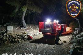 Rescatan en Bunyola a dos escaladores «agotados»
