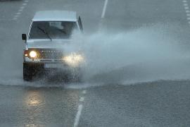 Alerta naranja en Baleares por tormentas localmente fuertes y granizo
