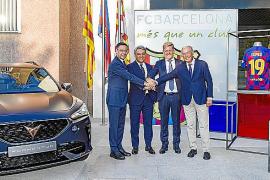 CUPRA y el FC Barcelona han anunciado acuerdo para las próximas 5 temporadas
